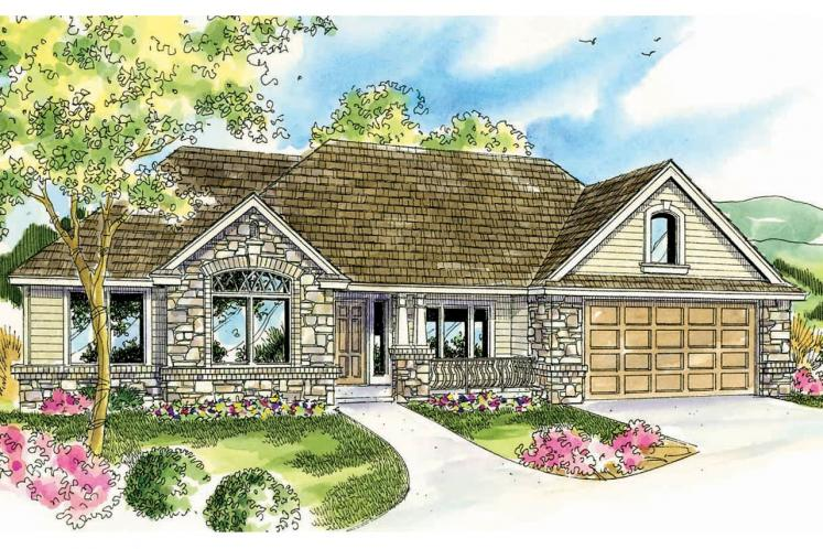 Cottage House Plan - Littlefield 38952 - Front Exterior