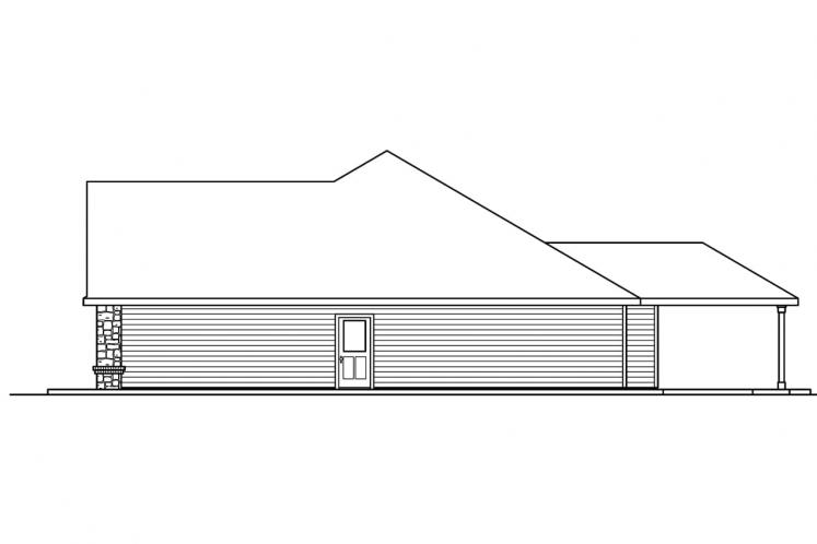 Cottage House Plan - Littlefield 38952 - Right Exterior