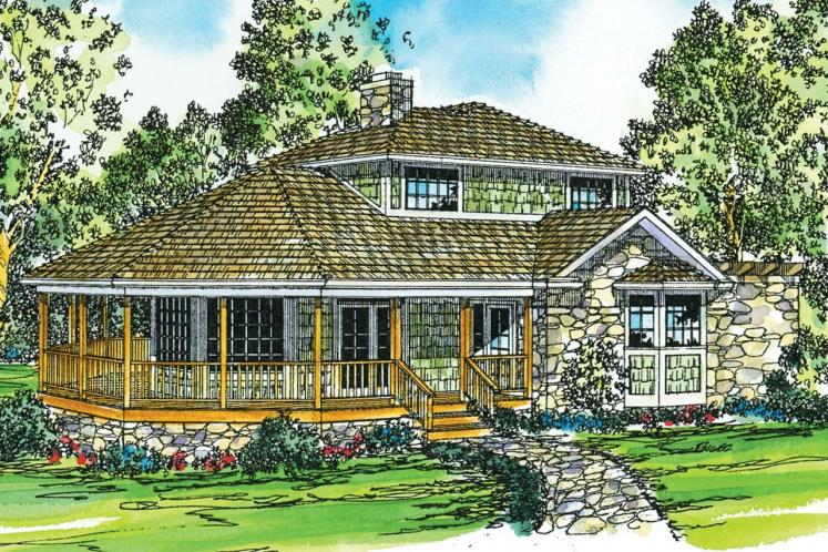 Cape Cod House Plan - Lakeview 39003 - Front Exterior