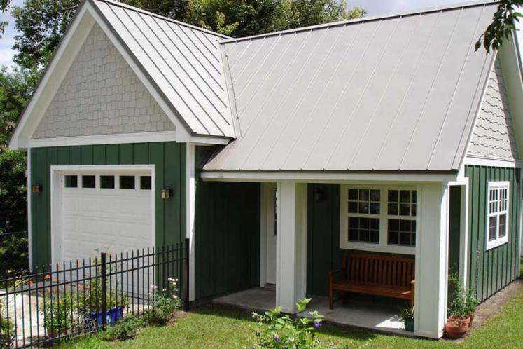 Country Garage Plan - Capricious 39021 - Front Exterior