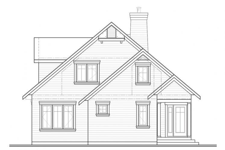 Country House Plan - Sunburst 3 39183 - Front Exterior