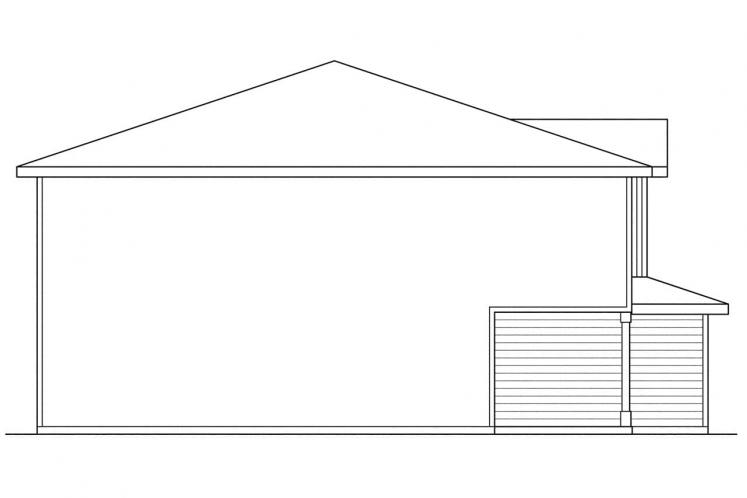 Country Multi-family Plan - Toliver 39251 - Left Exterior