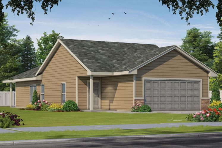 Traditional House Plan - Hillary Spring 39626 - Front Exterior