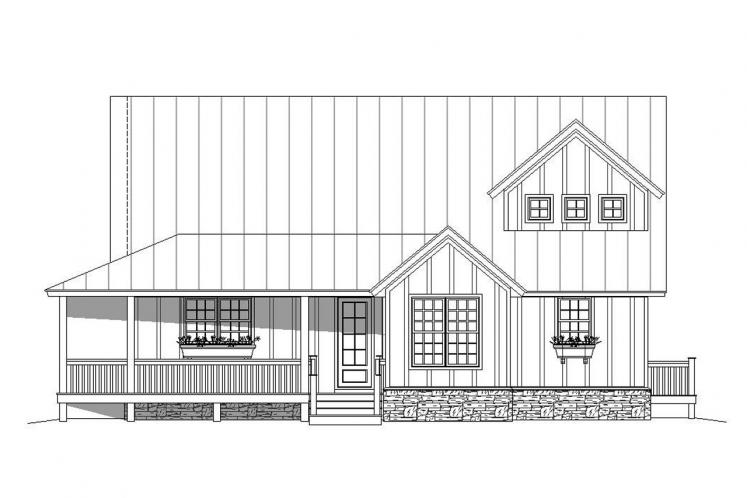 Craftsman House Plan - Mountain Shadows 39640 - Front Exterior