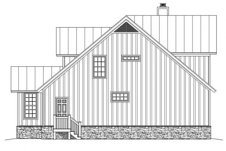 Cottage House Plan - Mountain Shadows 39640 - Right Exterior
