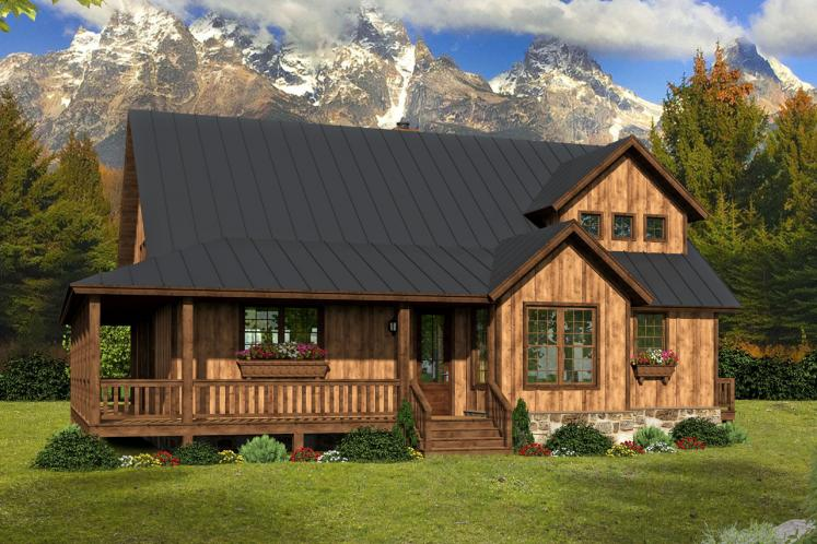 Country House Plan - Mountain Shadows 39640 - Front Exterior
