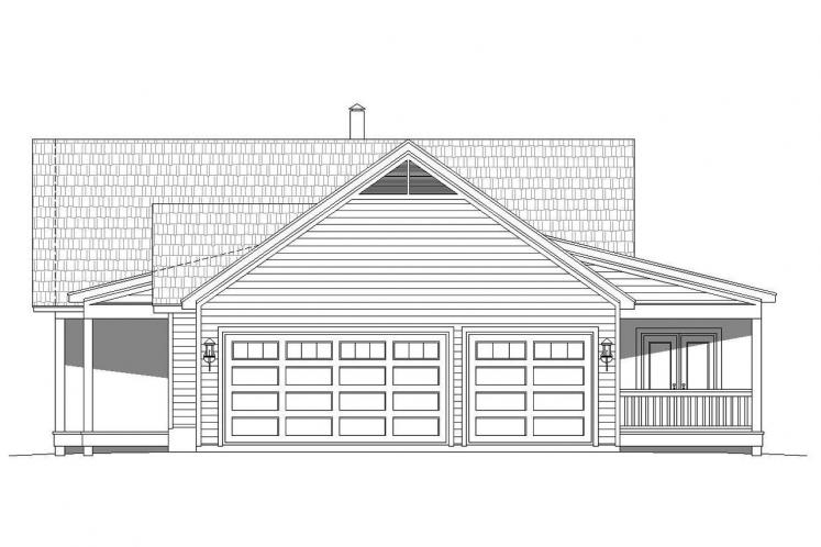 Lodge Style House Plan - Glenrock II 39831 - Right Exterior