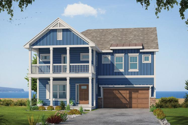 Country House Plan - Ames Terrace 40116 - Front Exterior