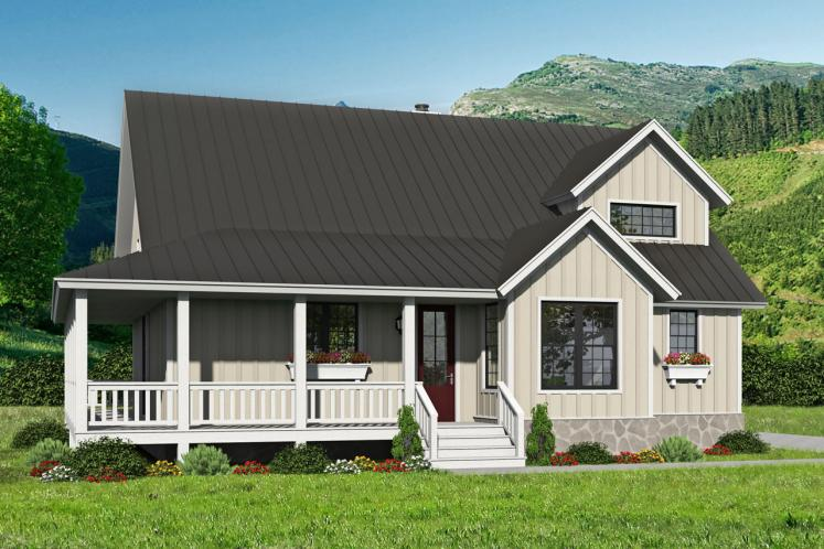 Country House Plan - Cypress Lake 40240 - Front Exterior