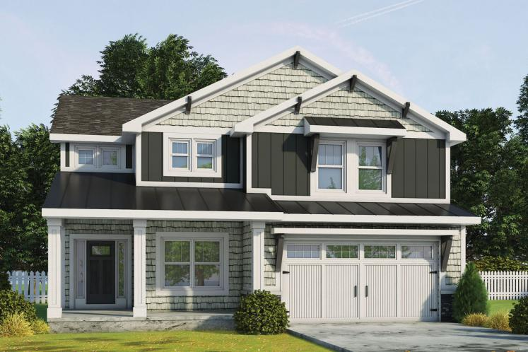 Craftsman House Plan - Ruby Springs 40274 - Front Exterior