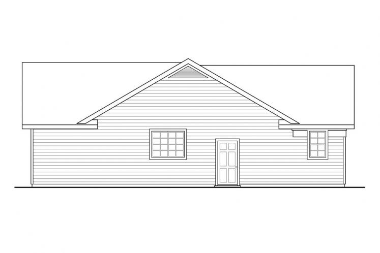 Traditional House Plan - Kenton 40813 - Left Exterior