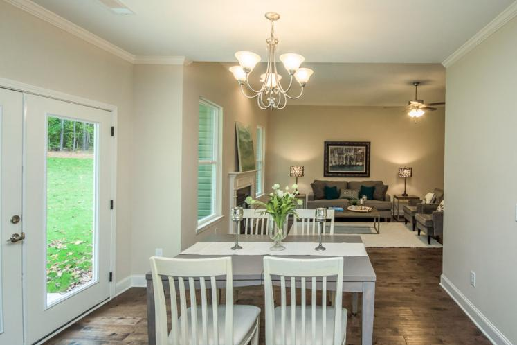 Ranch House Plan - Locklear 40823 - Dining Room