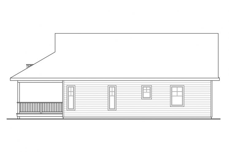 Cottage House Plan - Lyndon 40973 - Right Exterior