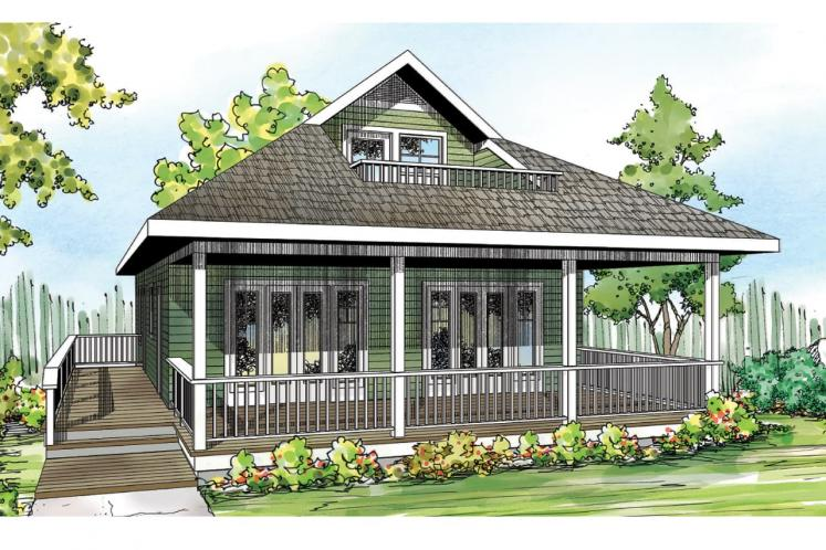 Cottage House Plan - Lyndon 40973 - Front Exterior