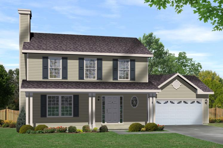 Traditional House Plan -  41204 - Front Exterior