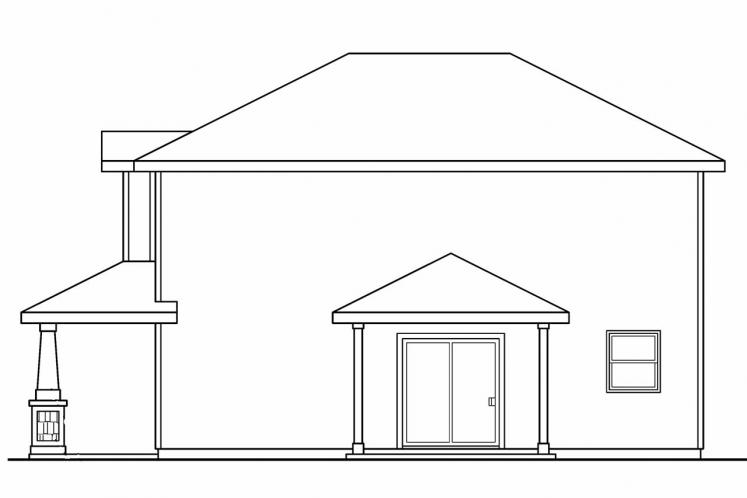 Cottage House Plan - Molalla 41616 - Right Exterior