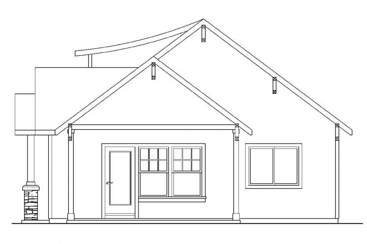 Cottage House Plan - Colebrook 41628 - Right Exterior
