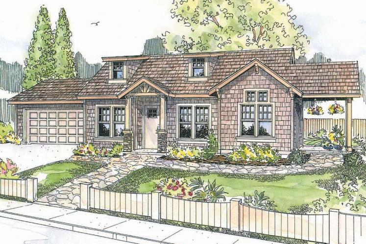 Cottage House Plan - Colebrook 41628 - Front Exterior