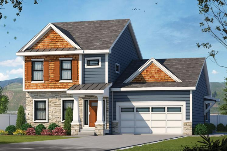 Traditional House Plan - Westerly Cottage 41646 - Front Exterior