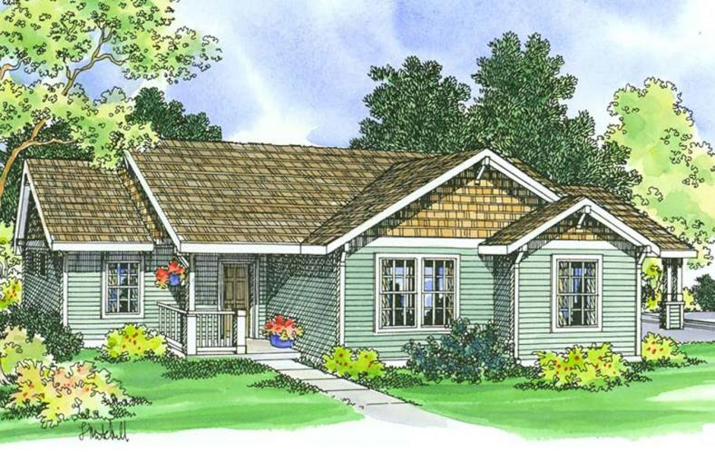 Traditional House Plan - Mattson 41822 - Front Exterior