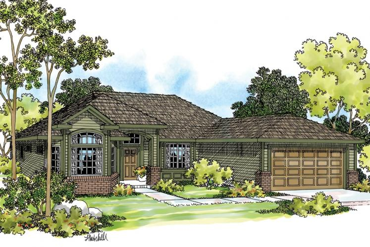 Ranch House Plan - Arvada 41850 - Front Exterior
