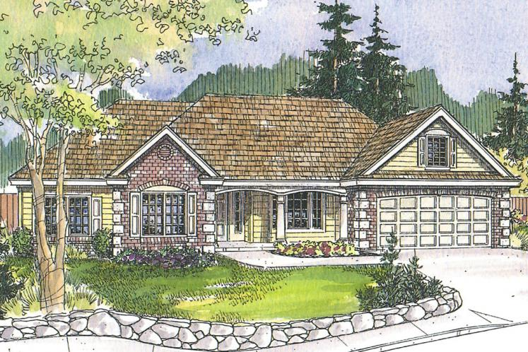 Traditional House Plan - Davidson 41985 - Front Exterior