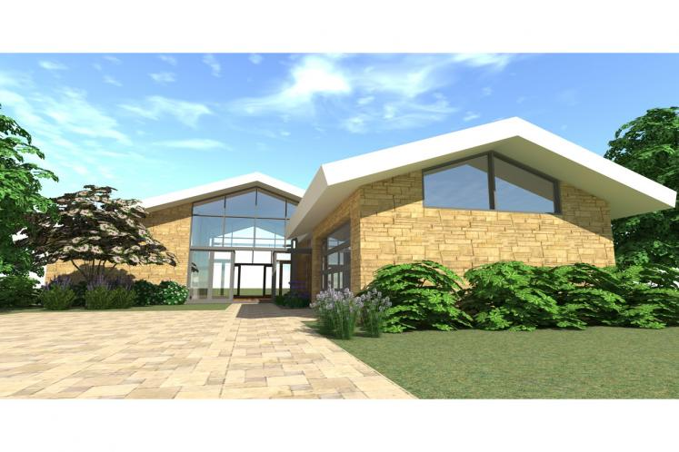 Modern House Plan - Lakemont 42087 - Front Exterior
