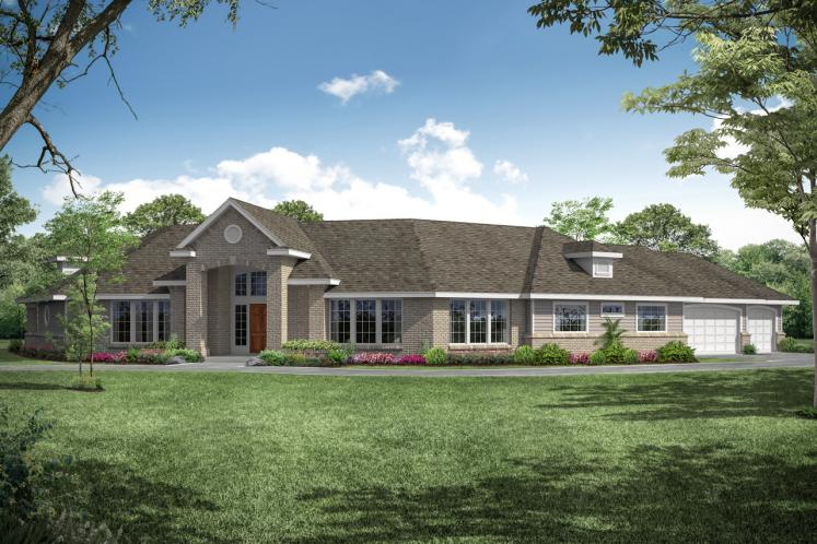 Traditional House Plan - Hawthorne 42212 - Front Exterior