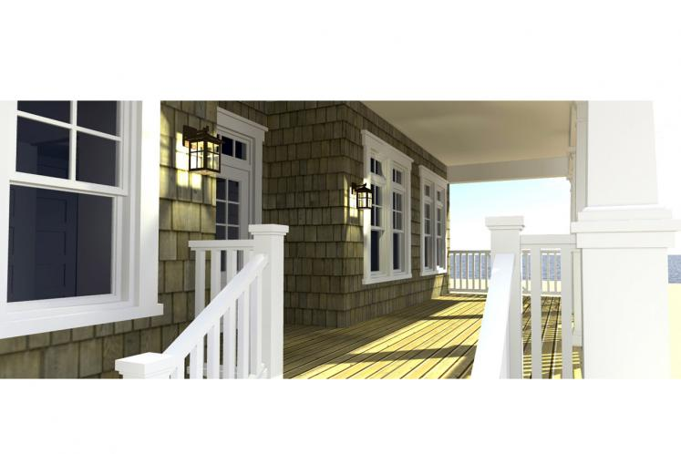 Cape Cod House Plan - Scuppers 42441 - Exterior