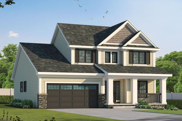Cottage House Plan - Watson 42463 - Front Exterior