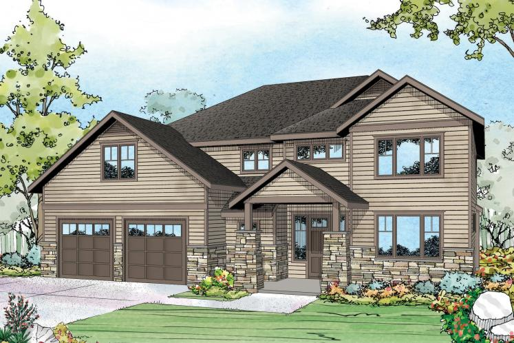 Country House Plan - Forest Grove 43013 - Front Exterior