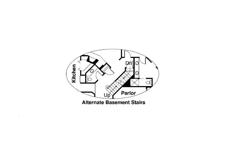 Traditional House Plan - Auburn 43241 - Basement Floor Plan
