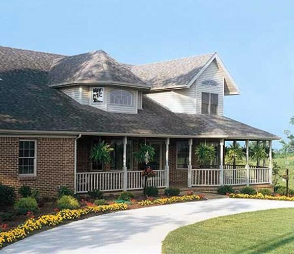 Country House Plan - Auburn 43241 - Front Exterior