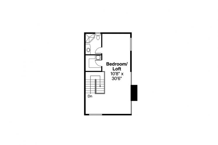 Cottage House Plan - New Haven 44034 - 2nd Floor Plan