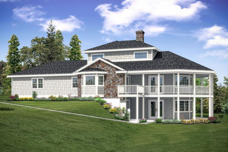 Cape Cod House Plan - New Haven 44034 - Front Exterior