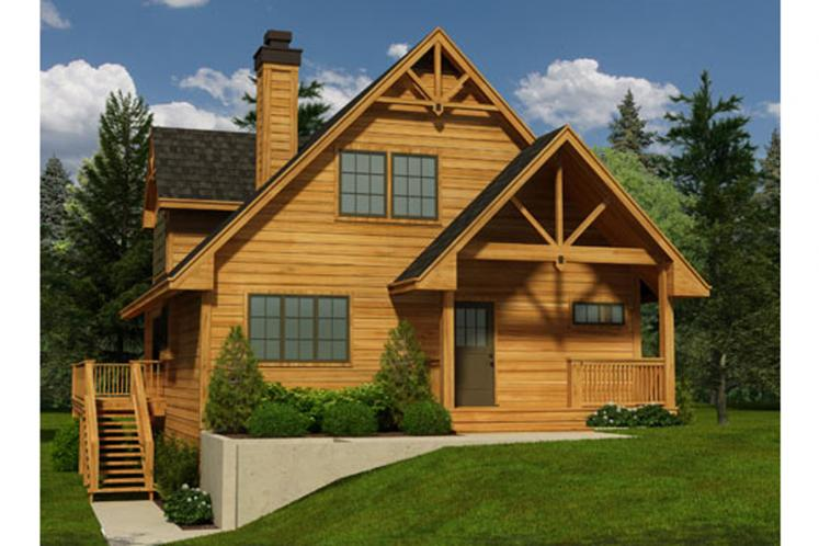 Craftsman House Plan - Syden 44258 - Front Exterior