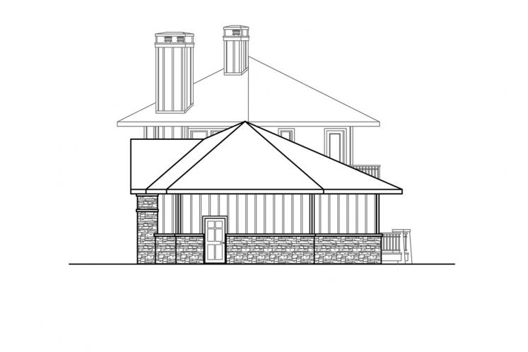 Lodge Style House Plan - Ashcroft 44348 - Right Exterior