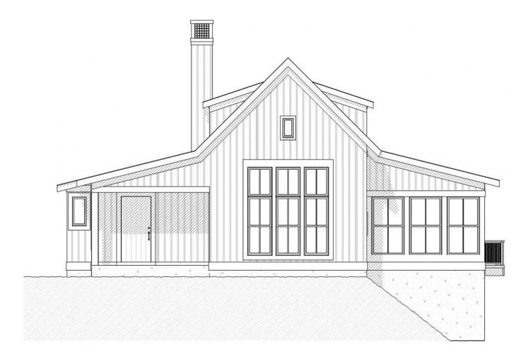 Cottage House Plan - Bayview 44361 - Front Exterior