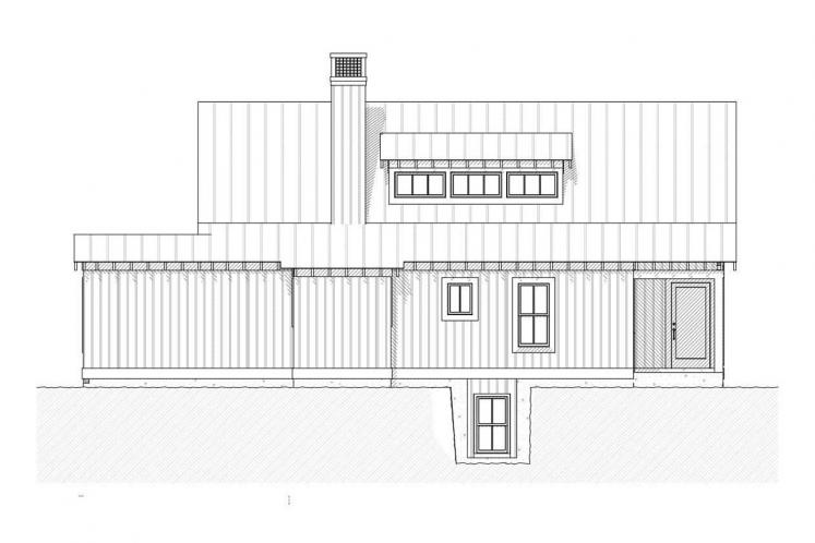 Cottage House Plan - Bayview 44361 - Left Exterior