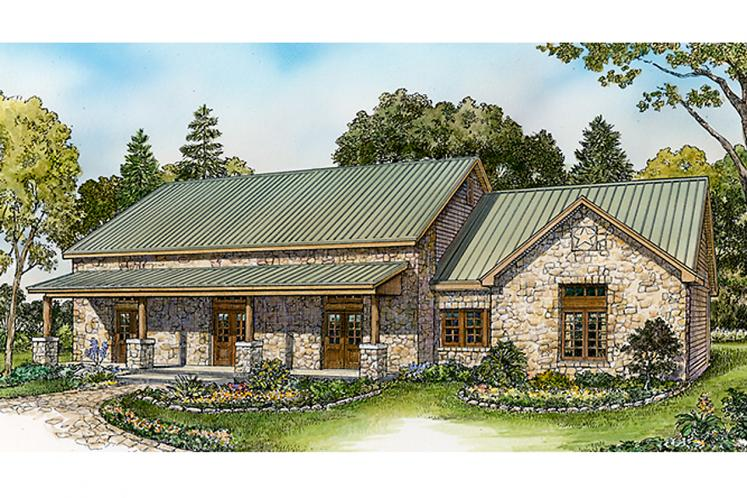 Country House Plan - Kendalia 44362 - Front Exterior