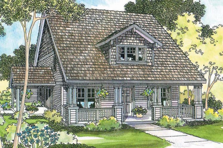 Craftsman House Plan - Ambridge 44403 - Front Exterior