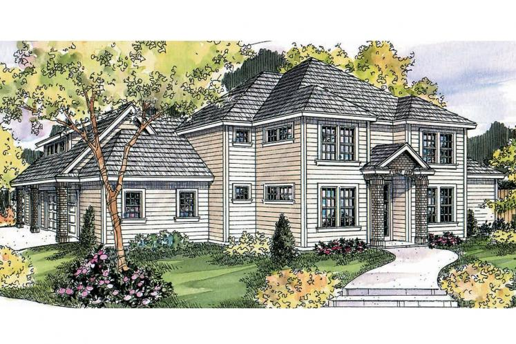 Traditional House Plan - Fairbanks 44415 - Front Exterior