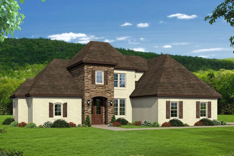 Southern House Plan - Whitetail 44842 - Front Exterior