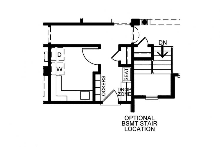 Traditional House Plan - Gonzales 44851
