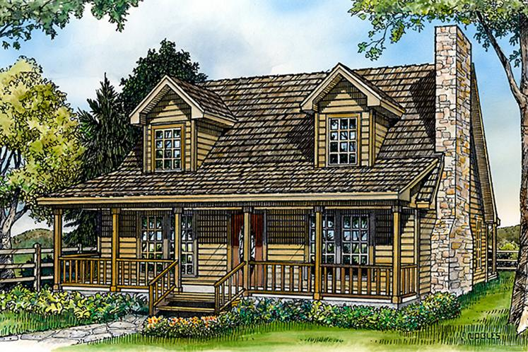 Country House Plan - Jennings 44861 - Front Exterior