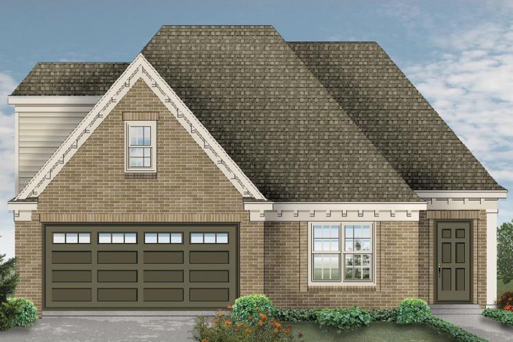 Traditional House Plan -  45115 - Front Exterior