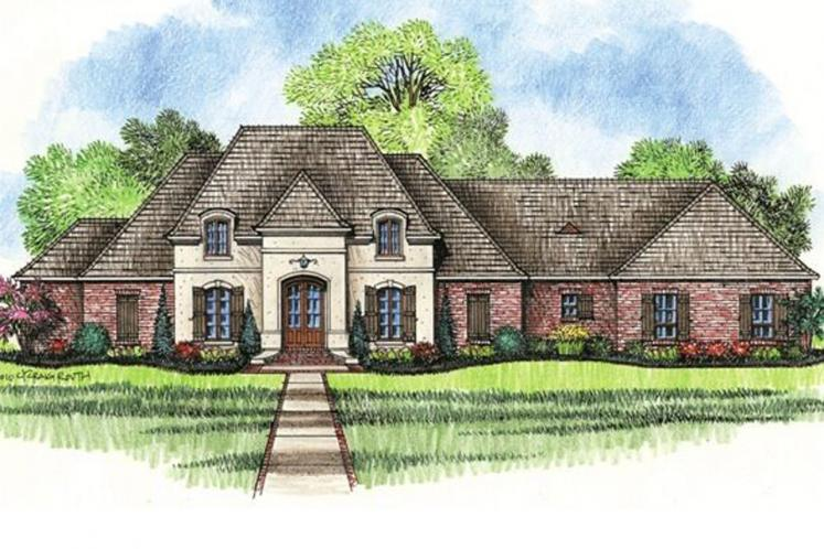 Southern House Plan - Fountainbleau 46279 - Front Exterior
