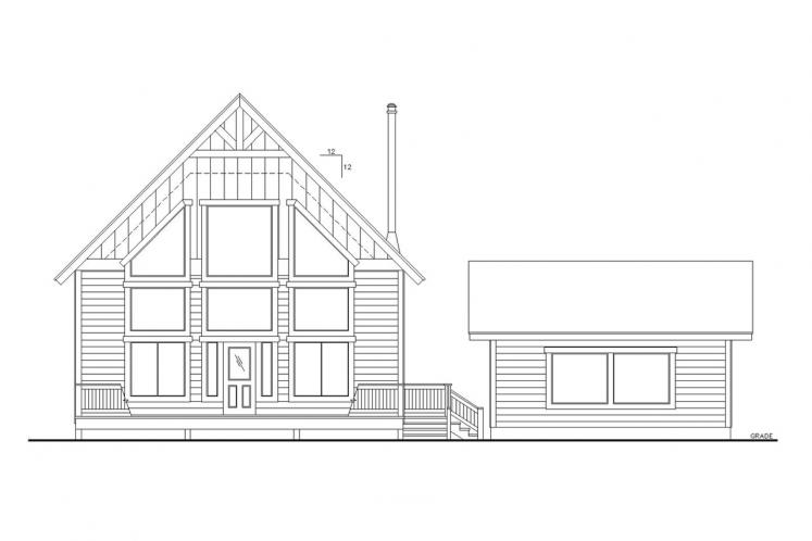 Country House Plan -  46349 - Front Exterior