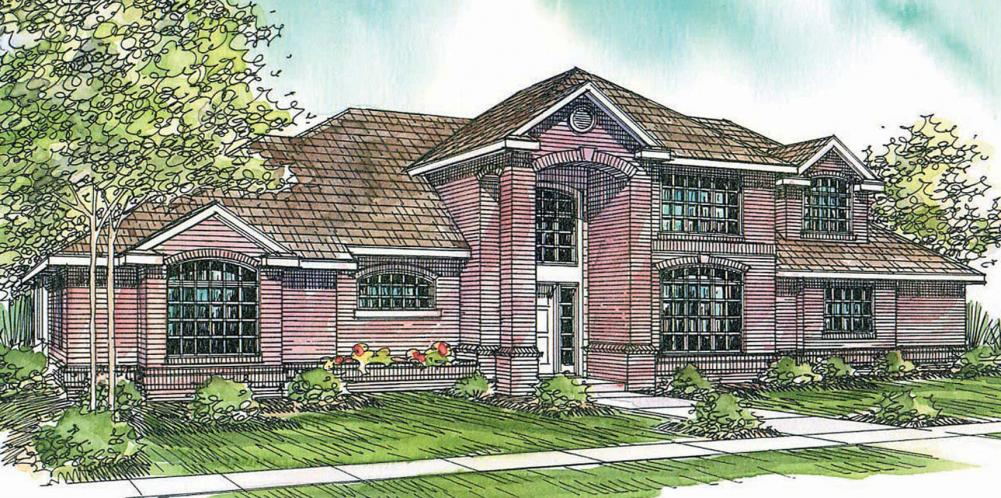 Classic House Plan - Richfield 46624 - Front Exterior
