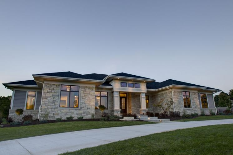 Tuscan House Plan -  46796 - Front Exterior